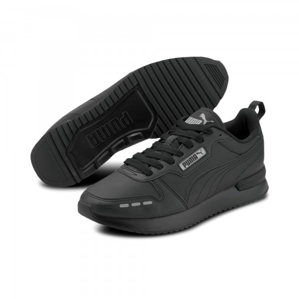 Puma R78 SL Herren Sneaker 374127 (Schwarz 01)