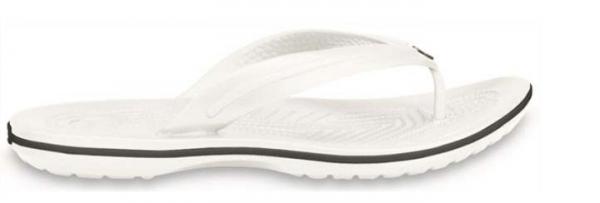 Crocs Crocband Flip Zehentrenner (White)