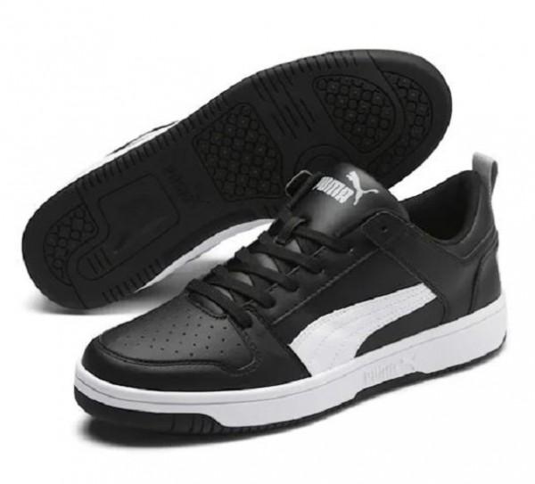 Puma Rebound LayUp Lo SL Herren Sneaker 369866 (Schwarz 02)