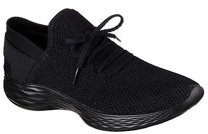 new style e4273 941bd Skechers Damen You-Spirit Slip On Damensneaker 14960 (Schwarz-BBK)