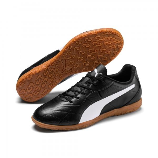 Puma Monarch IT Herren Fußballschuhe 105675 (Schwarz 01)