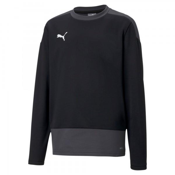 Puma TeamGOAL 23 Training Jr Kinder Sweatshirt 656568 (Schwarz 03)