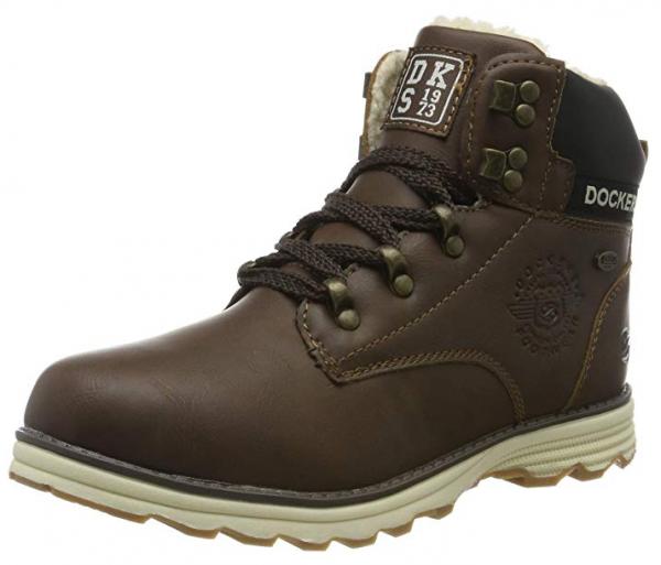 Dockers Kinder Stiefel 41TE720-650 (Braun 300)