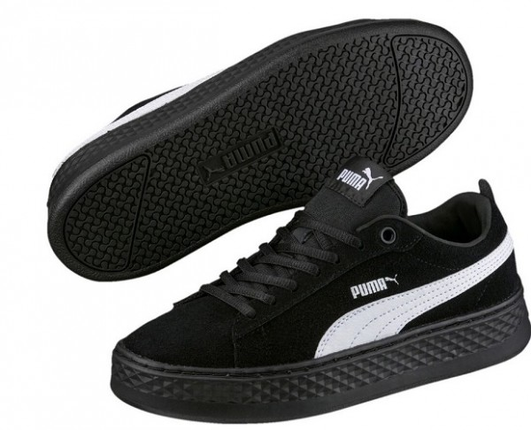 Puma Smash Platform SD Damen Sneaker 366488(Schwarz 02)