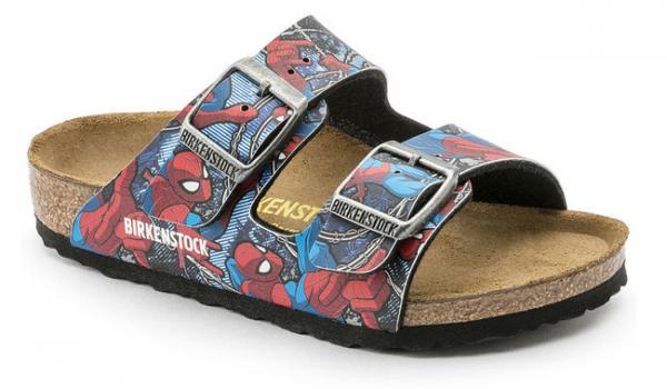 Birkenstock ARIZONA Kinder Birko-Flor normal Pantolette 1004372 (Spiderman)