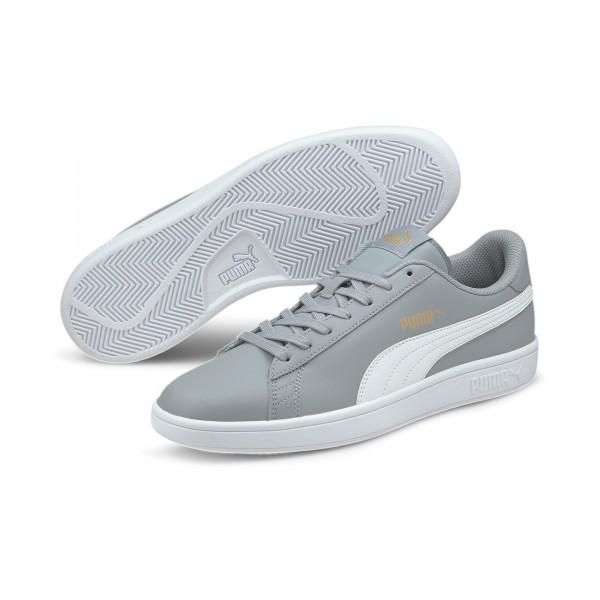 Puma Smash v2 L Herren Sneaker 365215 (Grau 28)