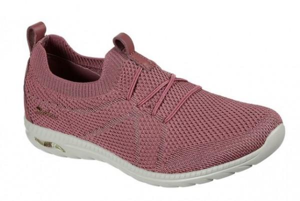 Skechers Arch Fit Flex Damen Sneaker 100285 (Rosa-ROS)