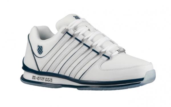 sports shoes a60ea fcf02 K-Swiss Rinzler SP Herren Sneaker (Weiß/Blau 139)