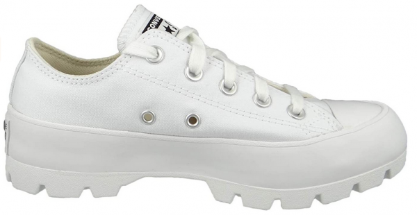 Converse Chuck Taylor All Star Lugged Ox Damen Sneaker 567680C (Weiß)