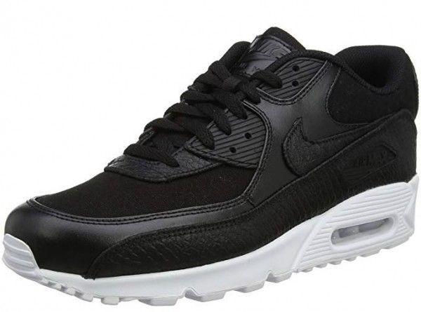 Nike Air Max 90 Premium Herren Sneaker (Schwarz 008)