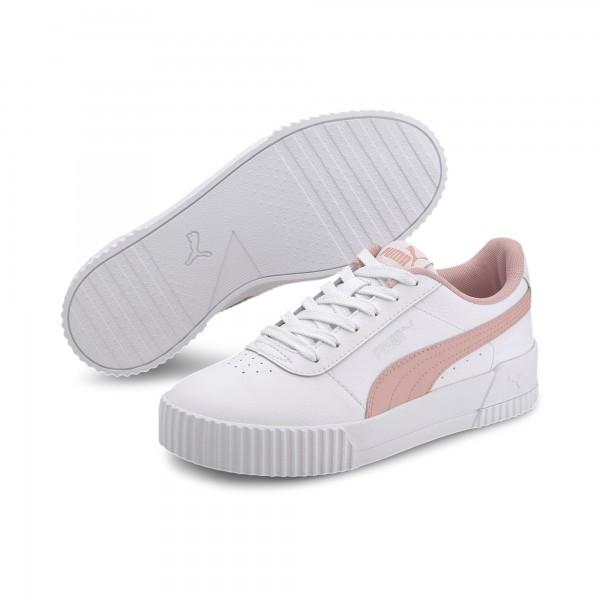 Puma Carina L Jr Kinder Sneaker 370677 (Weiß 13)