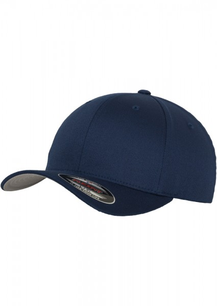 Flexfit Wooly Combed Baseball Cap (Navy-00155)