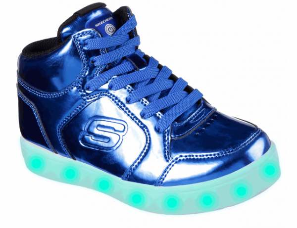 Skechers S Lights: Energy Lights Eliptic Kinder Sneaker 90603L (Blau-RYL)