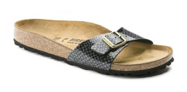 best service a549e 5a58f Birkenstock Madrid Damen Schuhe normal 1009042 (Schwarz)