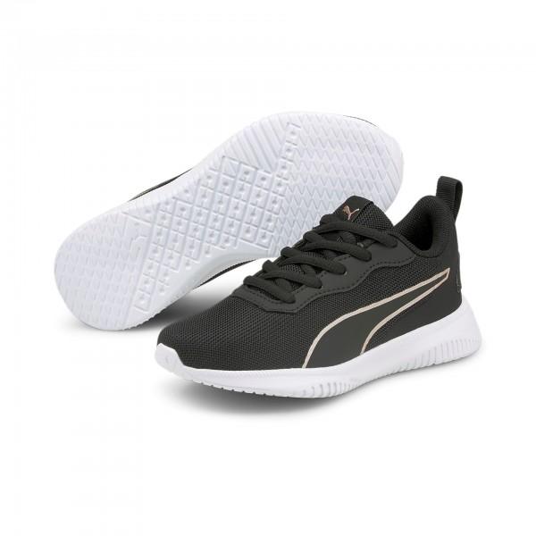 Puma Flyer Flex PS / Kinder Sneaker 195563 (Schwarz 05)
