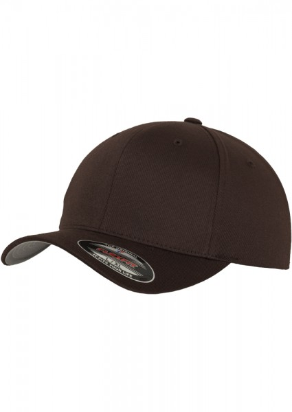 Flexfit Wooly Combed Baseball Cap (Brown-00075)