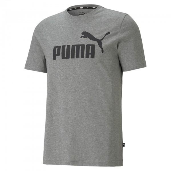 Puma ESS Logo Tee Herren T-Shirt 586666 (Grau 03)