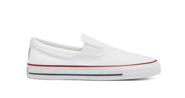 Converse Chuck Taylor All Star Double Gore Slipper Herren Sneaker 167940C (Weiß)