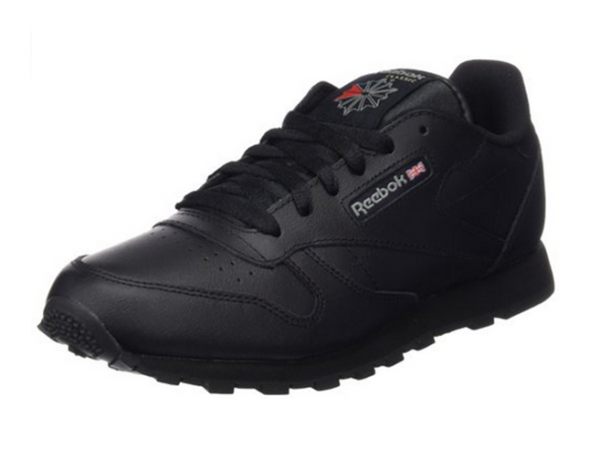 Reebok Classic Leather Kinder Sneaker (Schwarz)