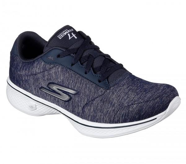 Skechers Gowalk4 Serenity Damen Sneaker (Blau-NVW)