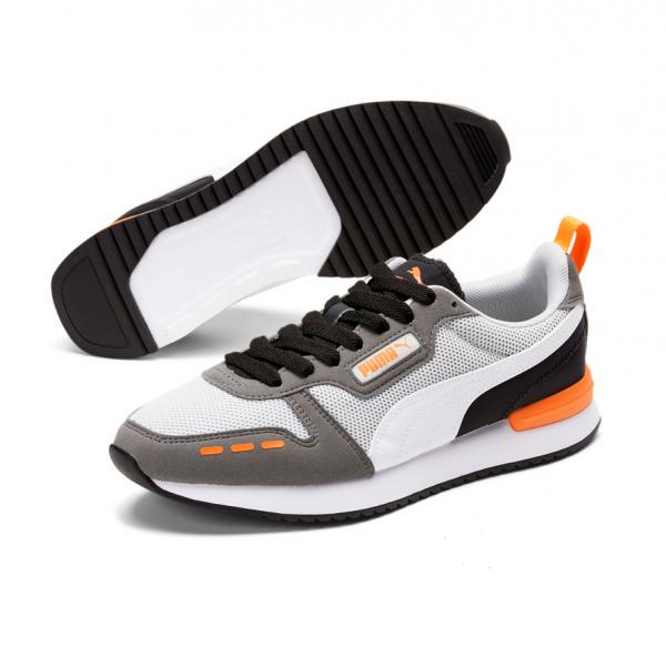 Puma R78 Runner Herren Sneaker 373117 (Grau 25)