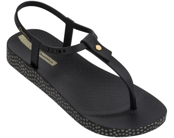 Ipanema Bossa Soft II Damen Sandale (Schwarz 8023)