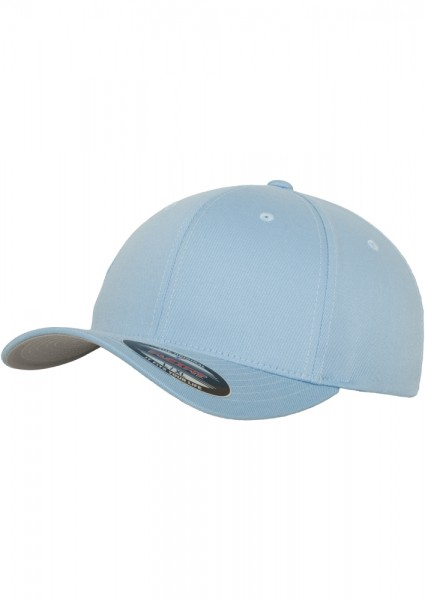 Flexfit Wooly Combed Baseball Cap (Carolina blue 00590)