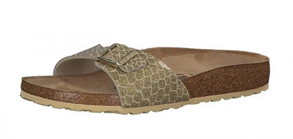 wholesale dealer c7562 2e8bd Birkenstock Madrid Damen Schuhe schmal 1011755 (Gold)