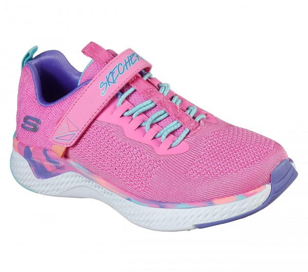Skechers Solar Fuse - Paint Power Kinder Sneaker 302041L (Pink-PKMT)