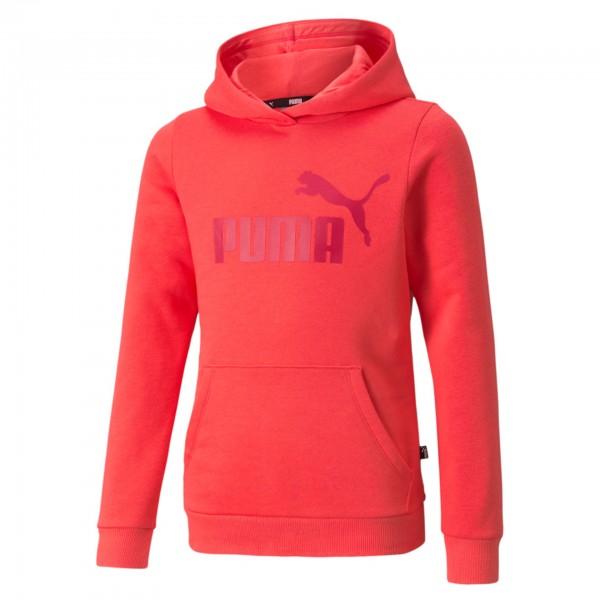 Puma Ess Logo Hoodie FL G / Kinder Kapuzenpullover 587031 (Pink 35)