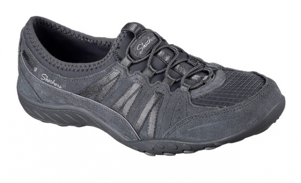 Skechers RELAXED FIT: Breathe Easy - Moneybags Damen Sneaker 23020 (Grau-CCL)
