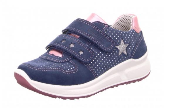 Superfit Merida Kinder Sneaker 8-00187 (Blau 88)