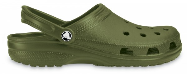 Crocs Classic Clogs (Army Green)