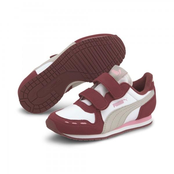 Puma Cabana Racer SL V PS Kinder Sneaker 360732 (Rot 88)