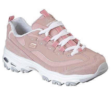 Skechers D'Lites - Me Time Damen Sneaker 11936 (Rosa-PNK)