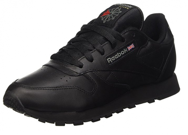 Reebok Classic Leather Damen Sneaker 3912 (Schwarz)
