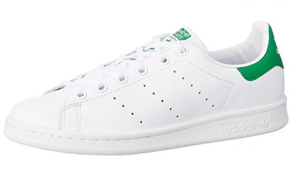 Adidas Stan Smith J Kinder Sneaker M20605 (Weiß)