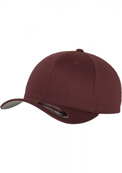 Flexfit Wooly Combed Baseball Cap (Maroon-00150)