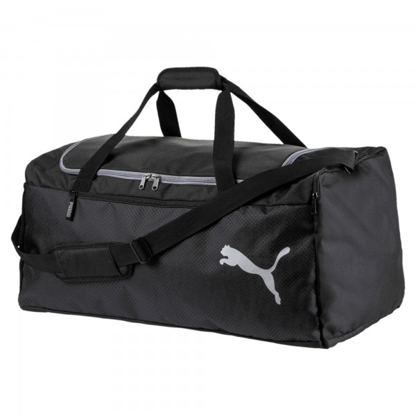 Puma Fundamentals Sports Bag L Sporttasche 075529 (Schwarz 01)
