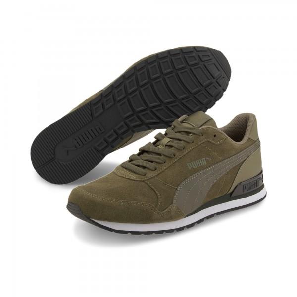 Puma ST Runner v2 SD Herren Sneaker 365279 (Grün 16)