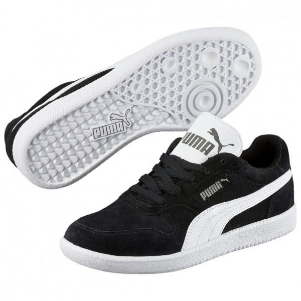 Puma Icra Trainer SD Jr Kinder Sneaker 358885 (black-white 07)