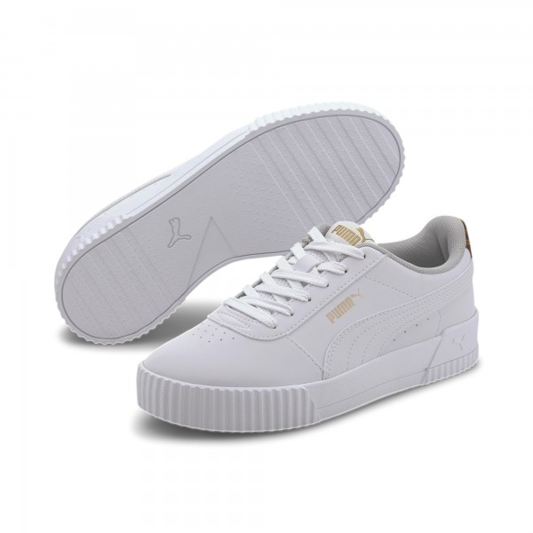 Puma Carina Leo Damen Sneaker 373228 (Weiß 03)
