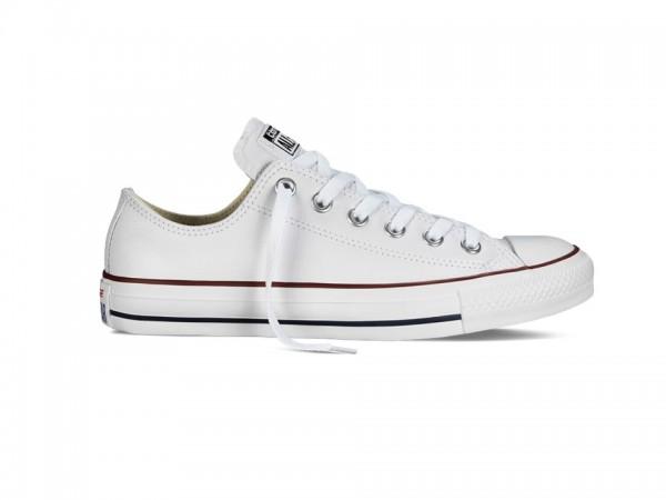 Converse Chucks Taylor All Star Leder Low Sneaker 132173C (Weiß)