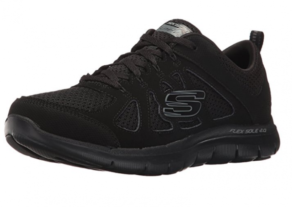Skechers Flex Appeal 2.0 Simplistic Damen Sneaker 12761 (schwarz-BBK)
