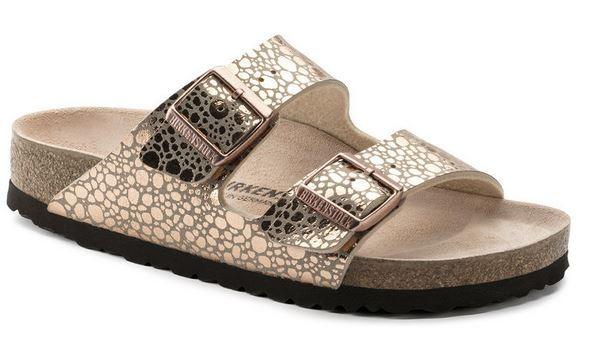Birkenstock ARIZONA Birko-Flor Damen Sandale normal 1006684 (metallic/gold)