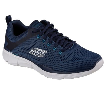 Skechers Relaxed Fit: Equalizer 3.0 Herren Sneaker 52927 (Blau-NVY)