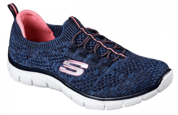 Skechers Empire - Sharp Thinking Damen Sneaker 12418 (Blau/Pink - NVPK)