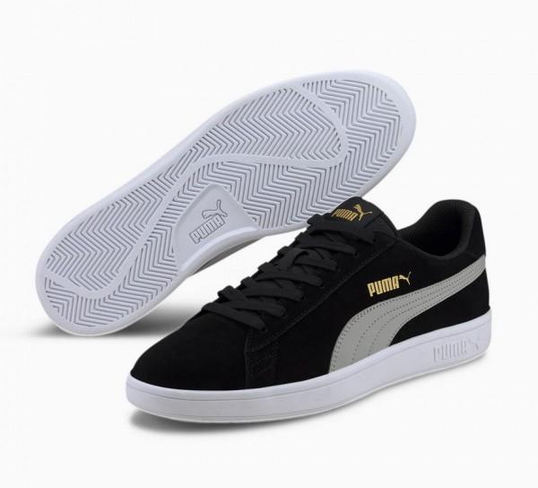 Puma Smash v2 Herren Sneaker 364989 (Schwarz 43)