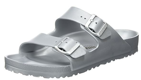 Birkenstock Arizona EVA normal 1003490 Herrensandale (Silber)
