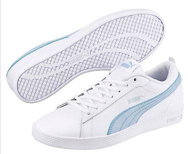 Puma Smash Wns V2 L Damen Sneaker 365208 (White 08)